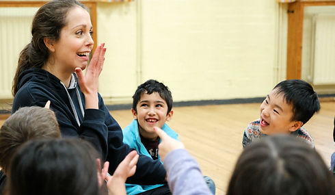 Drama classes for 5-8 year olds in Oxford