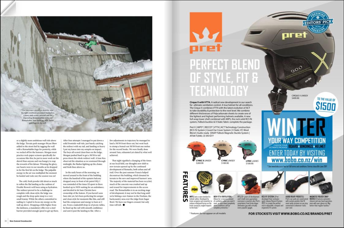New Zealand Snowboarder issue #63