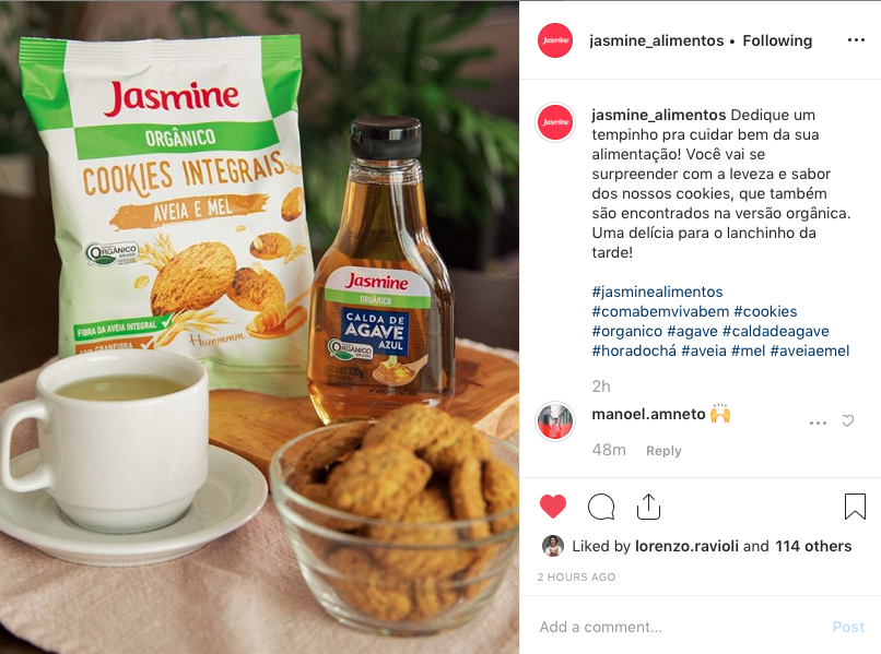 Jasmine foods