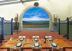 Kitchen Mural France