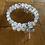 Thumbnail: Bracelet allaitement pierre de lune et quartz rose