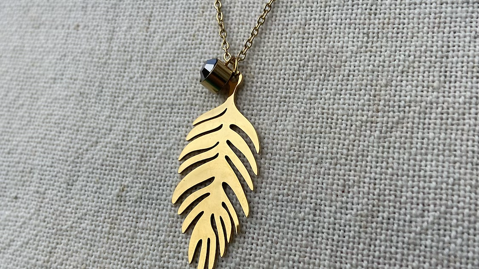Collier Plume