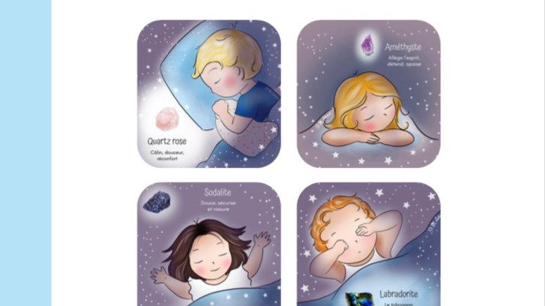 Le sommeil de l'enfant - Les petits cailloux illustrés