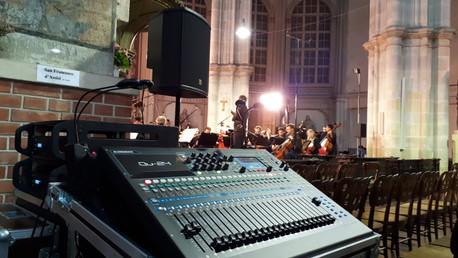 Beschallung Minoritenkirche Wien 1. Bezirk