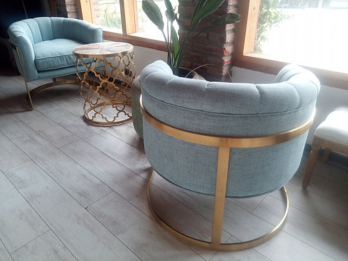 Barrel Chair celeste