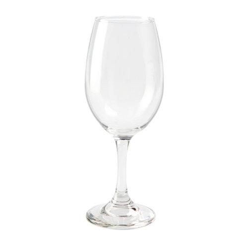 Copa de vidrio - vino blanco / agua