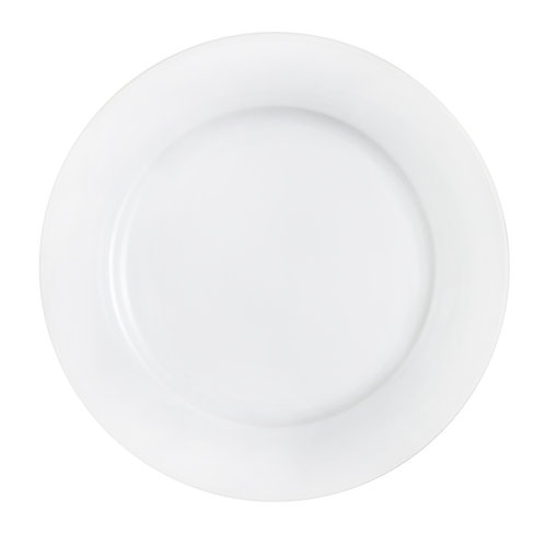 Plato base porcelana blanco 30 cm