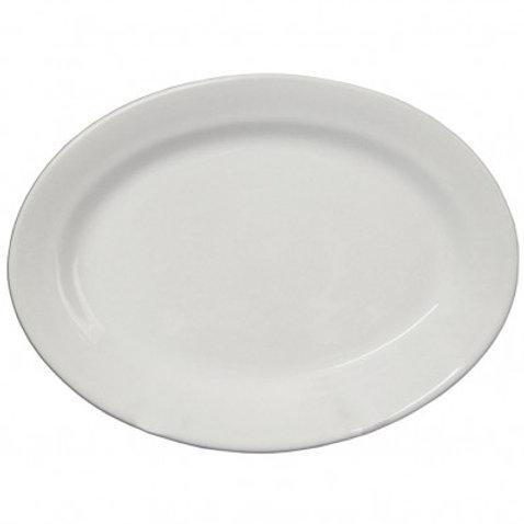Plato ensalada - ovalado