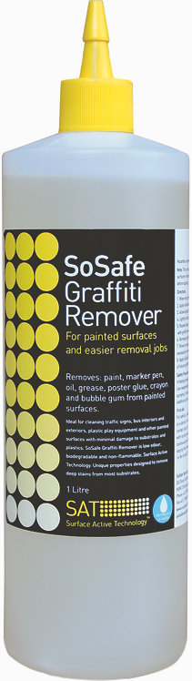 SOSAFE GRAFFITI REMOVER YELLOW