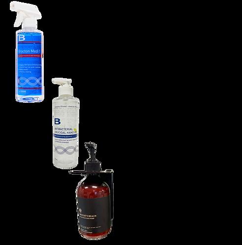 Sanitizer Mix Pack 1 - 3xSoap 3xSanitiser 6xMedi1