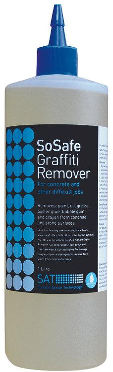 SOSAFE GRAFFITI REMOVER BLUE LIQUID