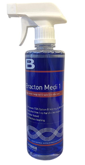 BRACTON MEDI 1 HOSPITAL GRADE DISINFECTANT TGA APPROVED (OPTION B)