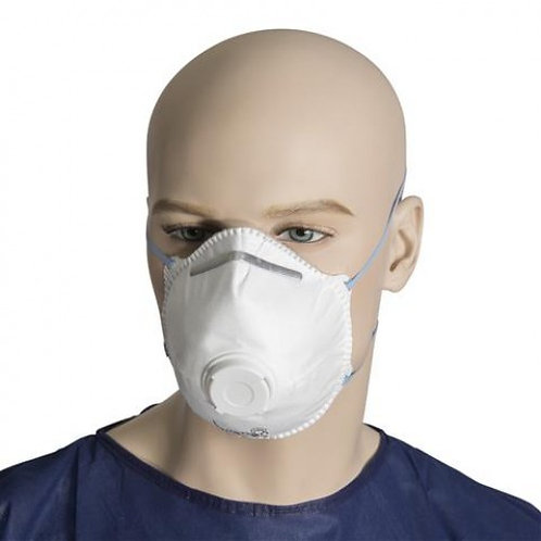 P2 RESPIRATOR MASKS (BOX OF 12 PCS)