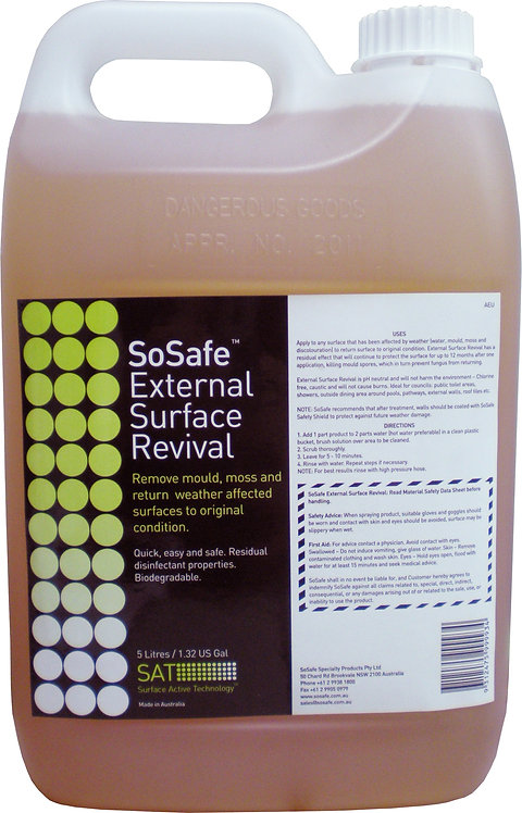 SOSAFE EXTERNAL SURFACE REVIVAL
