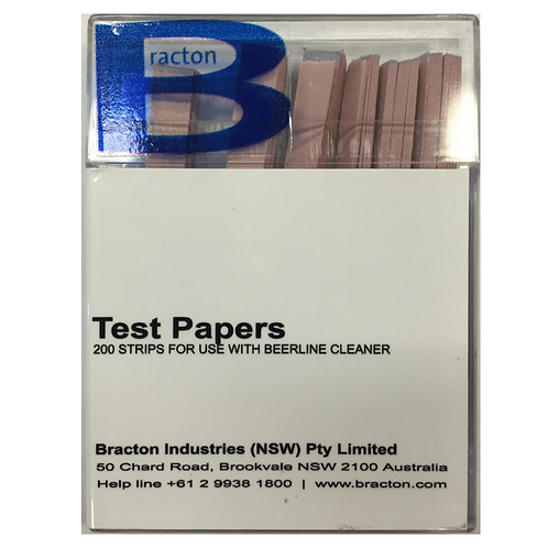BRACTON LITMUS TEST PAPERS 200/Pack