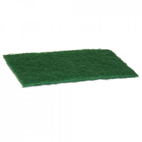 GREEN FLAT SCOURER PAD (CTN/100)