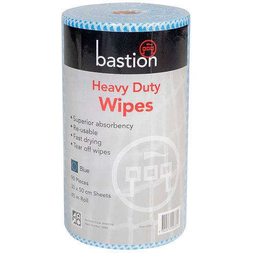 WIPES - HEAVY DUTY - BLUE (CTN 4 ROLLS)
