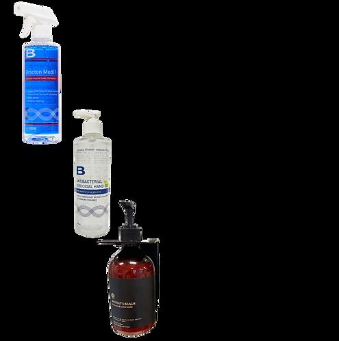 Sanitizer Mix Pack 2 - 4xSoap 4xSanitiser 4xMedi1