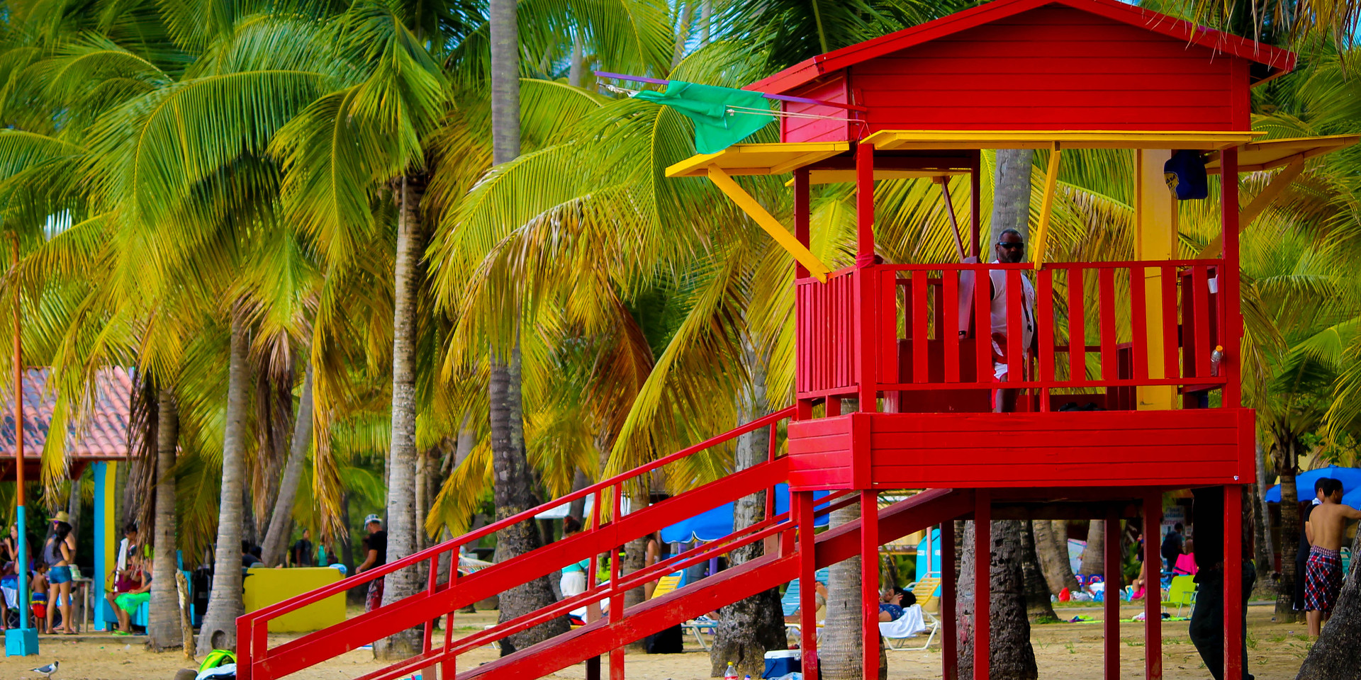 Luquillo Beach Red House