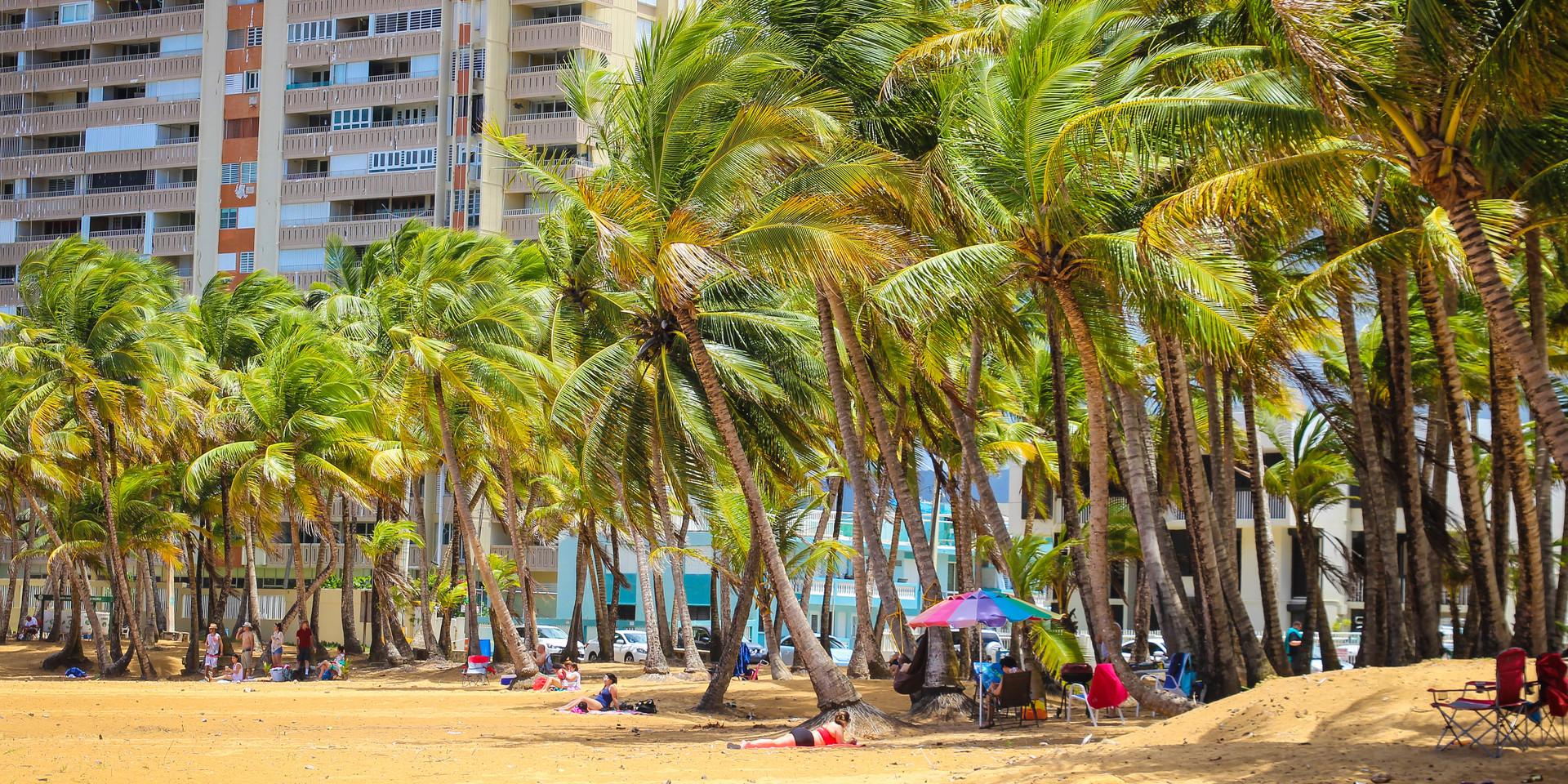 Fun day in Luquillo Beach