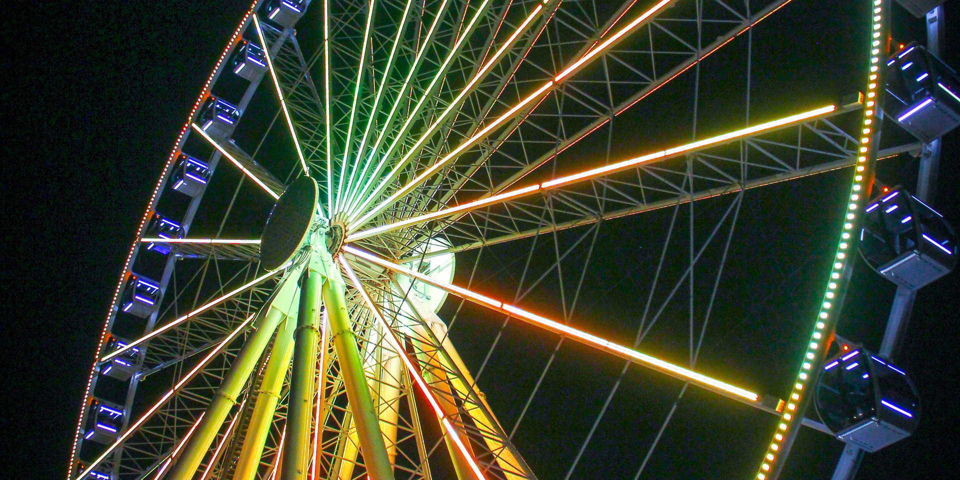 The colorful wheel