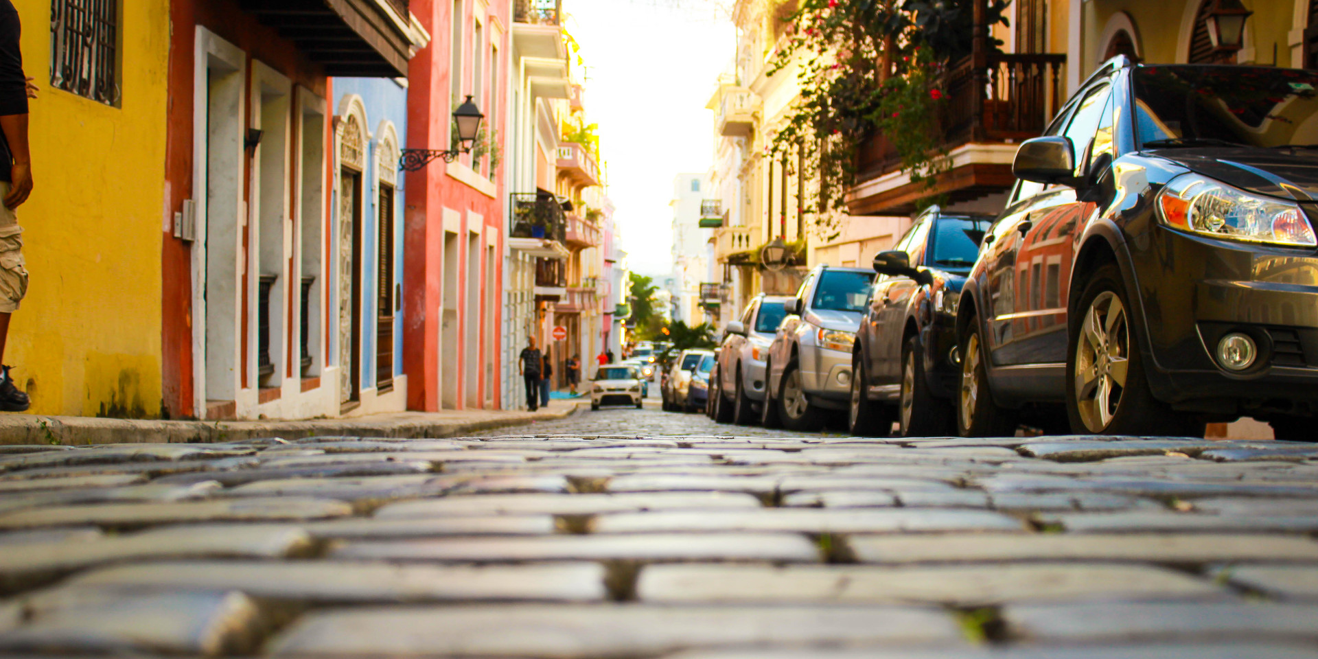 A walk in Old San Juan