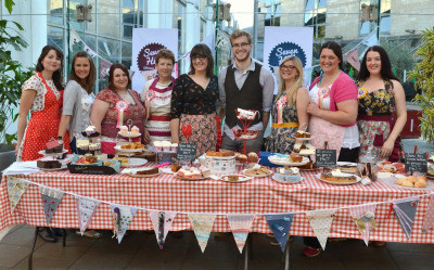 Seven Hills WI at Sheffield Food Festival 2014