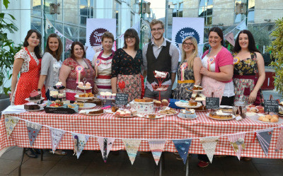 We made over £1,000 from cake!