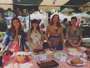We raised over £1000 at Sheffield Food Festival
