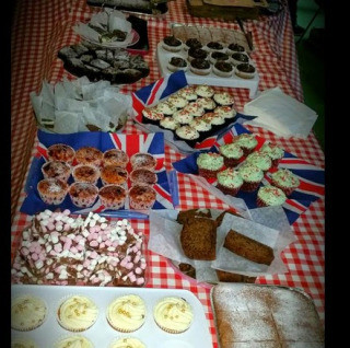 Christmas market raises £368 for the Young Women's Housing Project