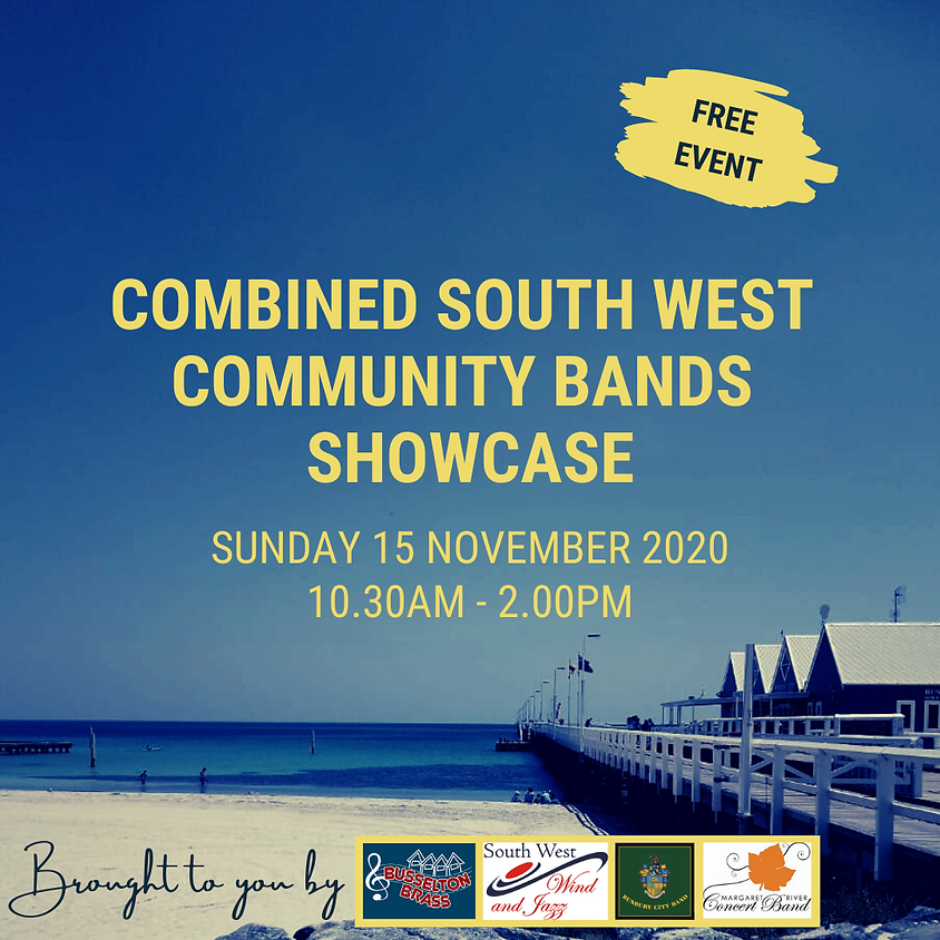 Combined South West Community Bands Showcase
