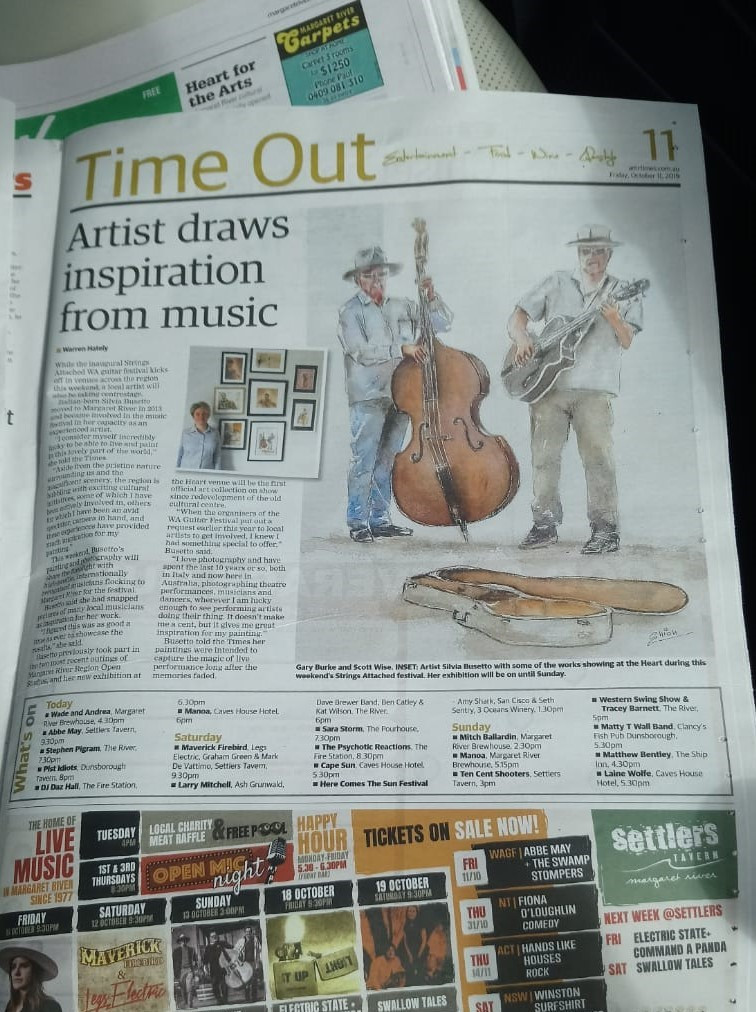 Augusta Margaret River Times Article