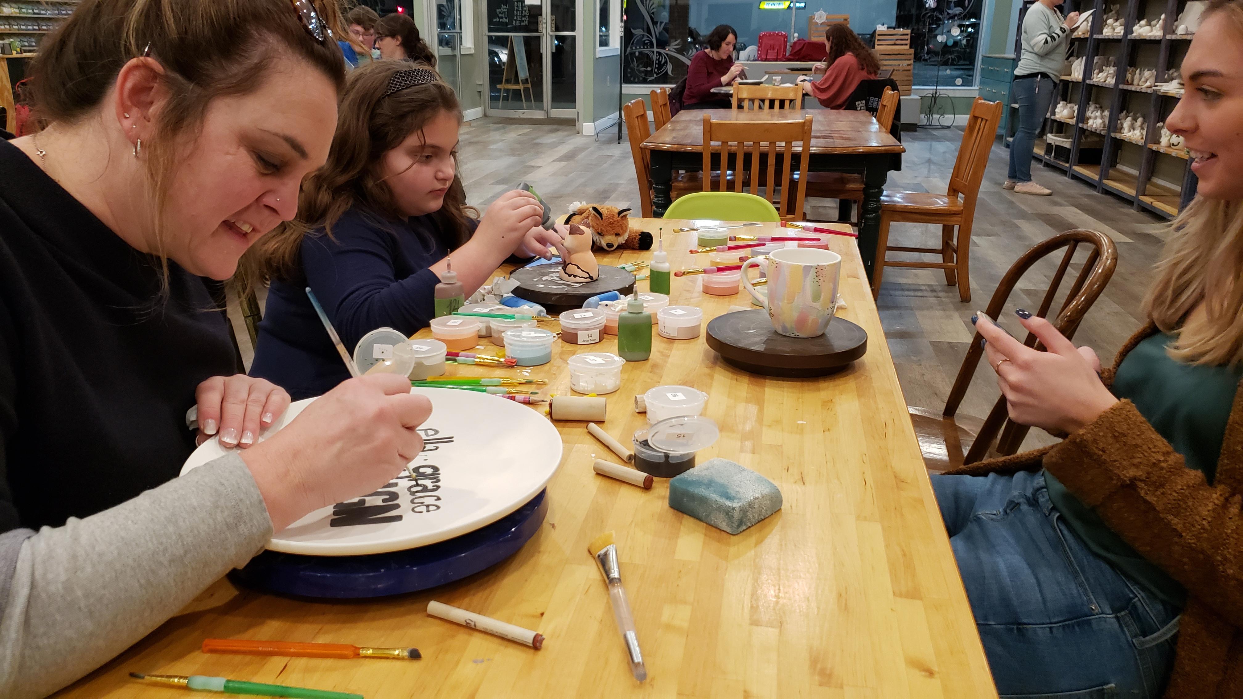 Pottery Painting Technique Class