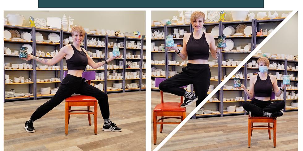 Yoga & Paint: Chair Yoga with Sera Beth