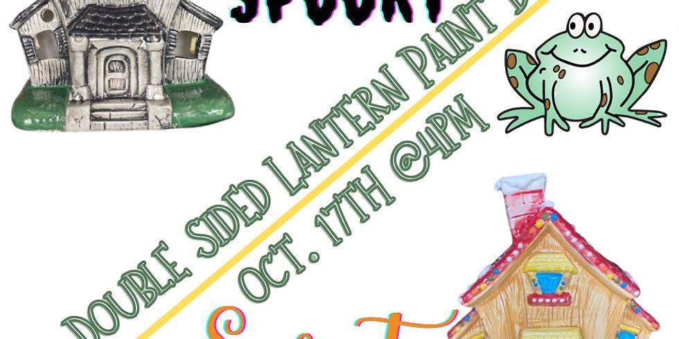 Spooky Sweet House Lantern Paint Event
