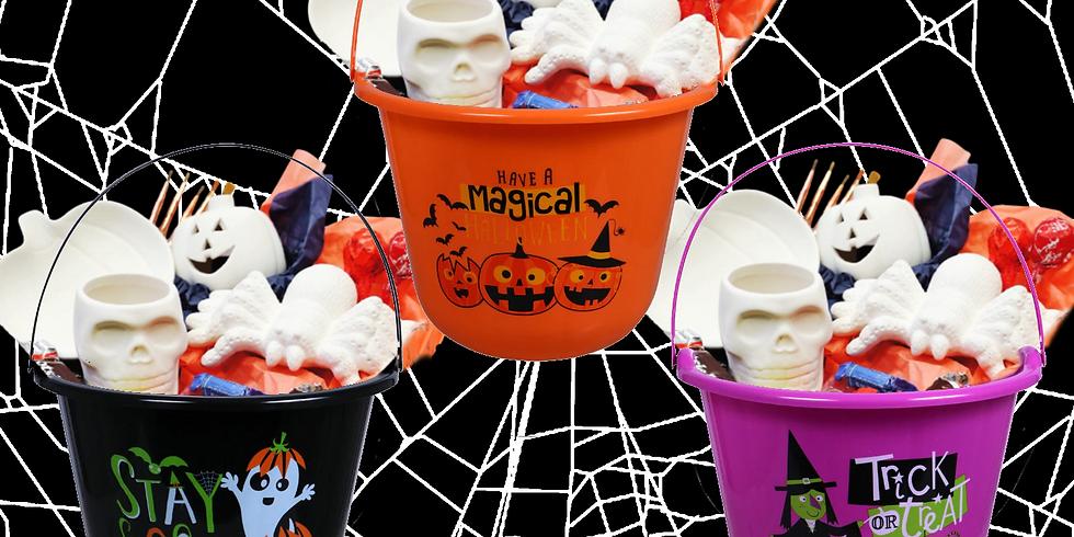 Halloween Trick & Treat Bucket