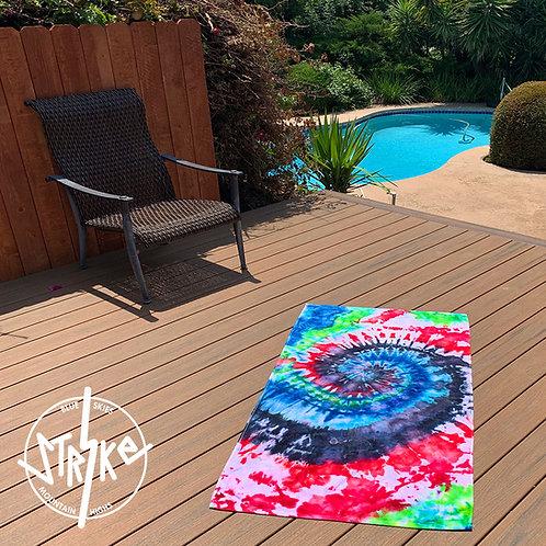 Custom Tie-Dye Towel