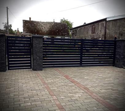 Modern Swing Gate