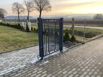 Modern Pedestrian Gate