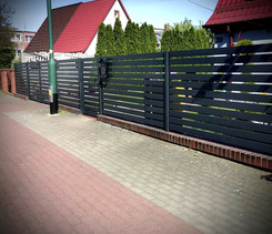 Modern Gate And Fence
