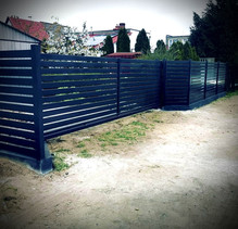 Modern Gate And Fence 2