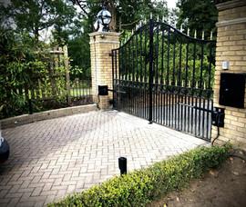 Swing Iron Gate