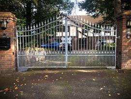 Ornamental Swing Gate