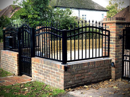 Ornamental Gate And Fence 2
