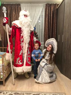 Дед мороз и снегурочка СПб
