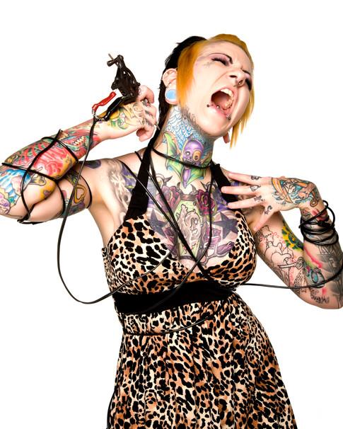 Tattoo parlor Ad