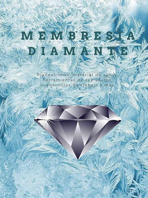 Membresía Trimestral Diamante Tridocente 3° - 4°