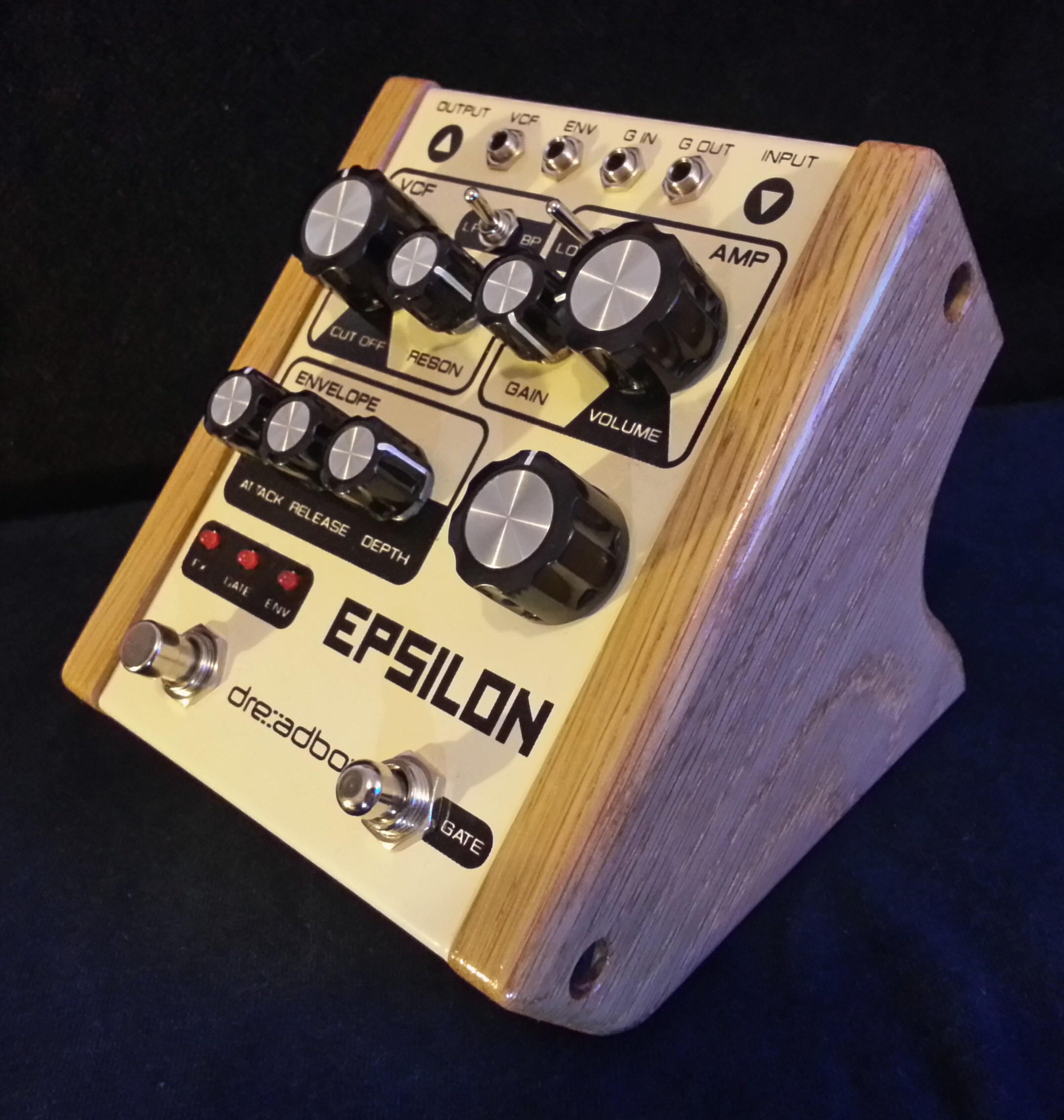 Dreadbox Epsilon in Oak