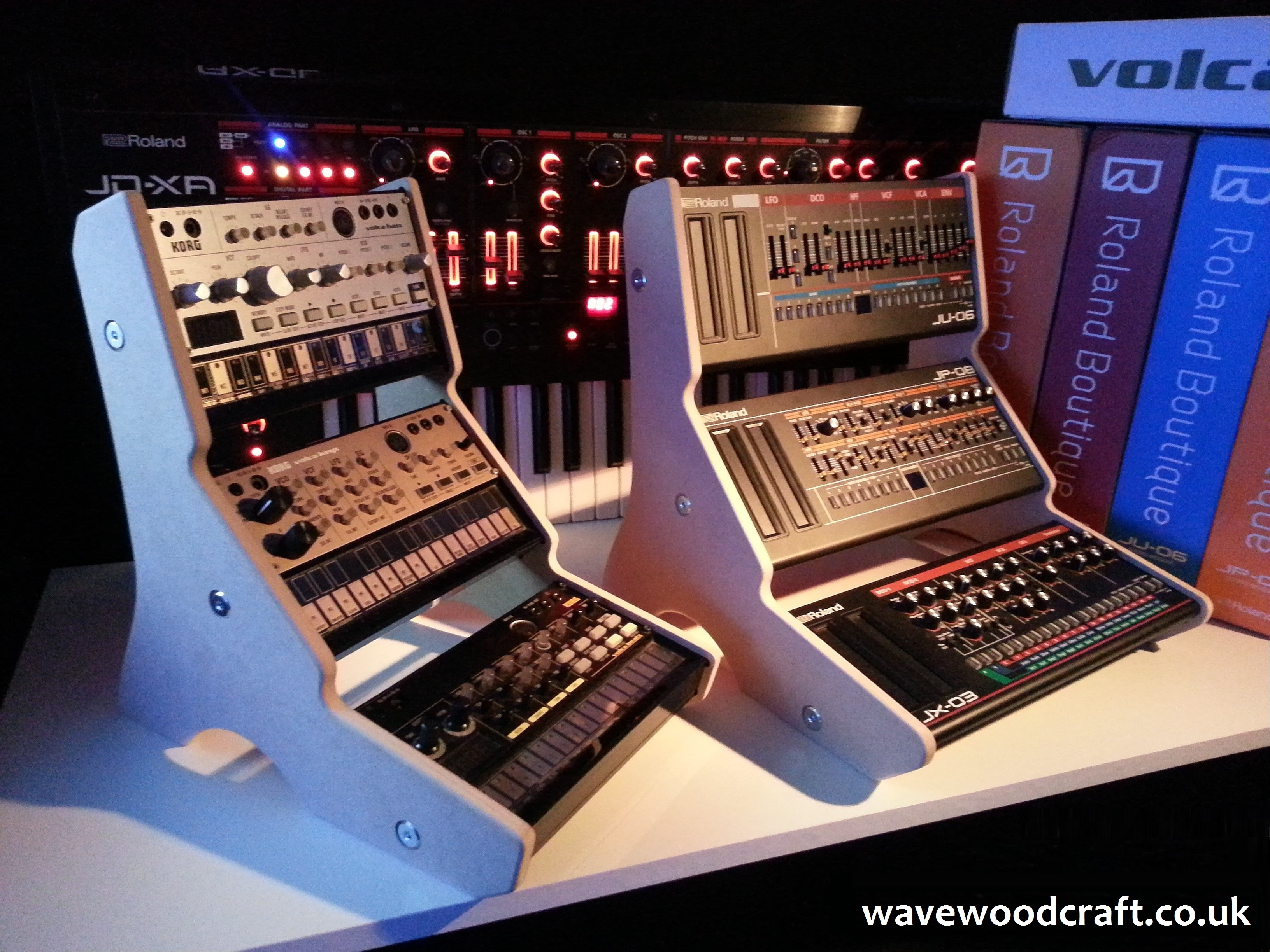 Korg Volca & Roland Boutique Stands