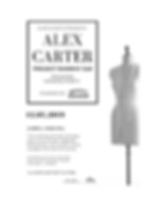Alex Carter Project Runway S18 Flyer 12.